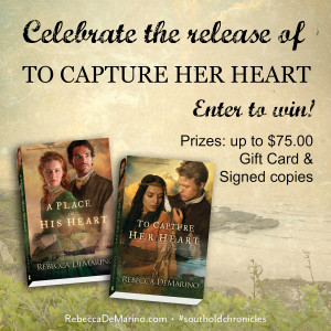 To Capture Her Heart Giveaway