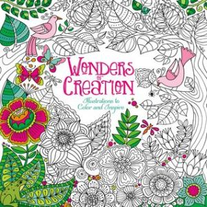 Review Wonders Of Creation Coloring Book Illustrations To Color
