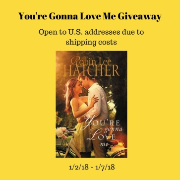 You're Gonna Love Me Giveaway