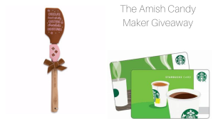 the amish candy maker giveaway